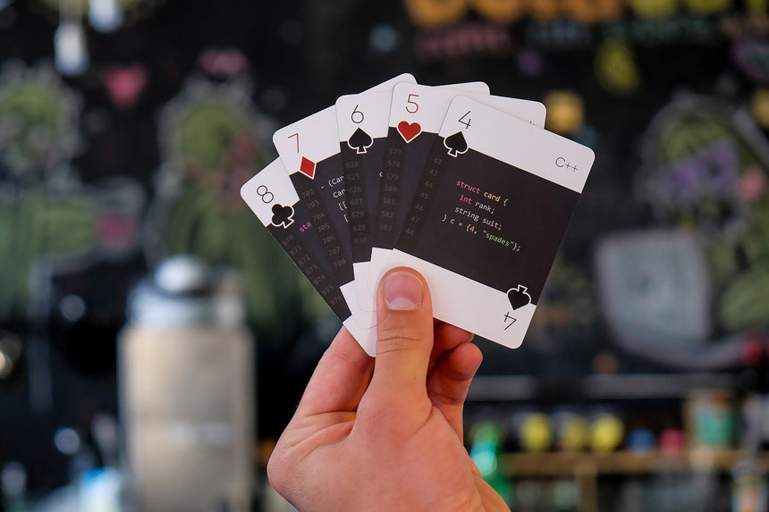 code:deck modern | Playing cards