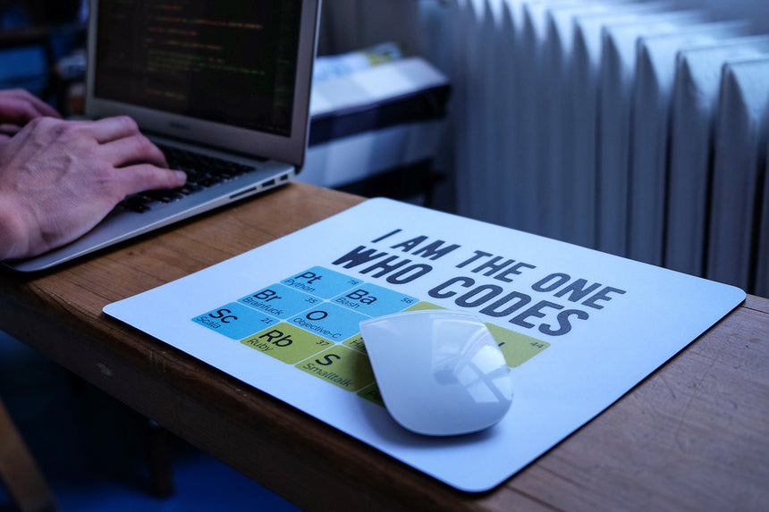 I am the one who codes | Mouse pad