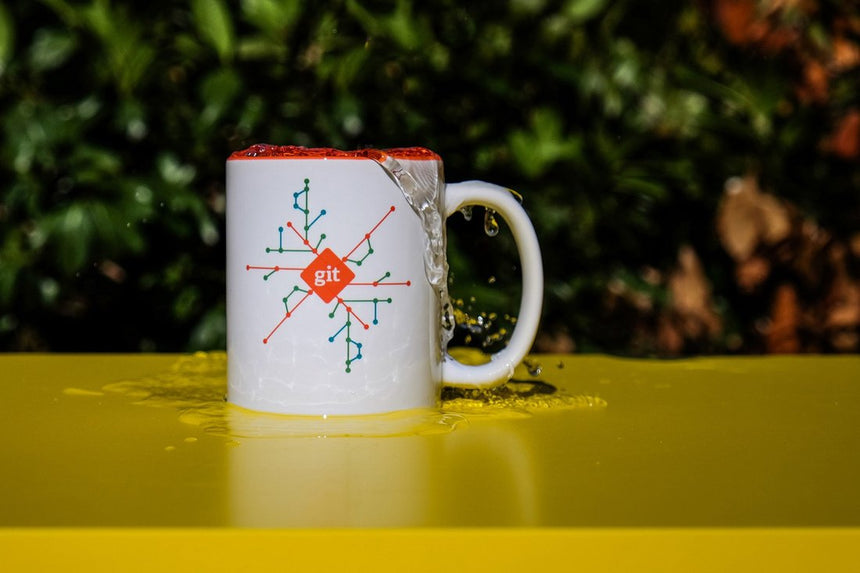 Git Bundle: Deck, Mug, Sticker, Tote