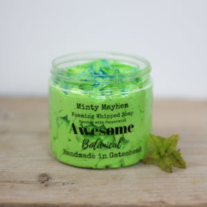 Minty Mayhem Whipped Soap.