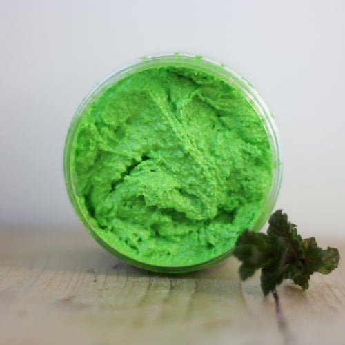 Minty Mayhem Whipped Sugar Scrub.
