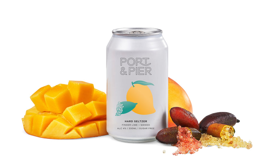 Port & Pier Outback Fingerlime and Mango (x8)