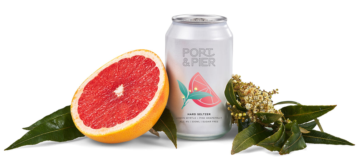 Port & Pier Lemon Myrtle and Pink Grapefruit (x8)