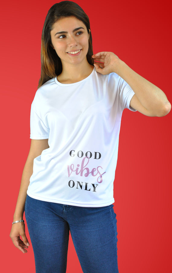 Playera Good Vibes Only