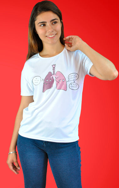 Playera Lungs