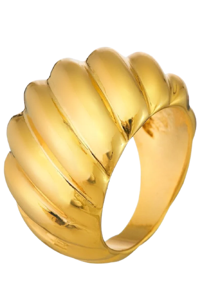 Bey Croissant Ring