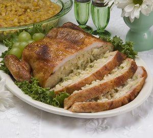 Stuffed Chicken with Broccoli, Rice & Cheese