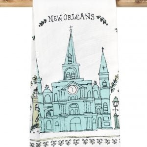 New Orleans Cathedral Kitchen Towel