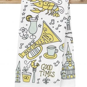 New Orleans Good Times Kitchen Towel