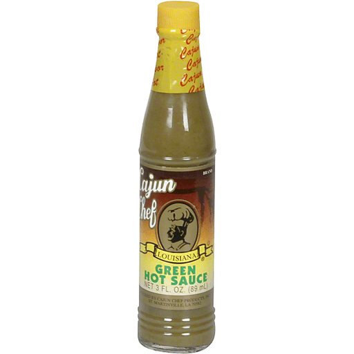 Cajun Chef Green Hot Sauce