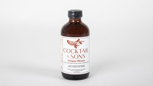 Cocktail & Sons Ginger Honey Syrup