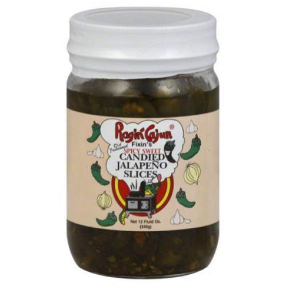 Ragin Cajun Candied Jalapeno Peppers