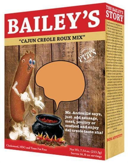 Bailey's Cajun Creole Roux Mix