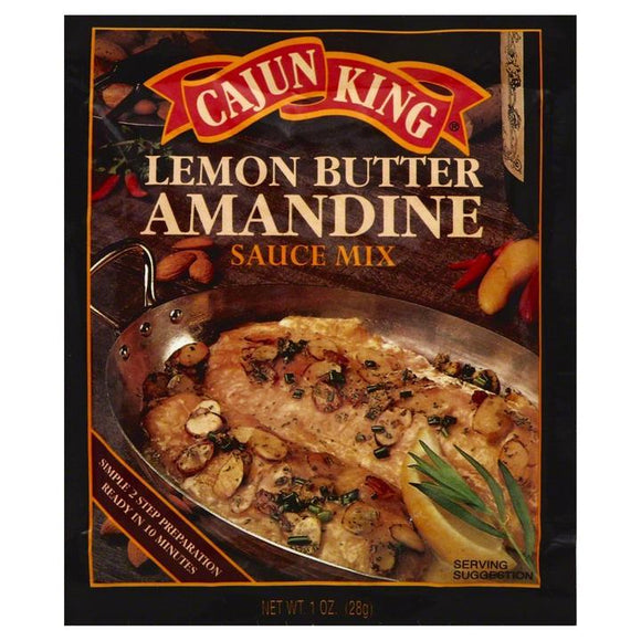Cajun King Lemon Butter Amandine Sauce Mix