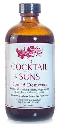 Cocktail & Sons Spiced Demerara Syrup