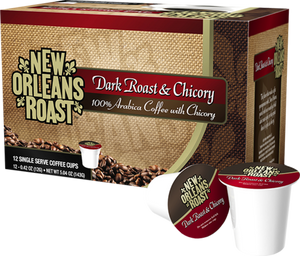 New Orleans Roast Single Serve Cups - Dark Roast & Chicory