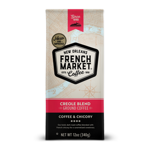 French Market Coffee-Creole Blend-Medium Roast with Chicory