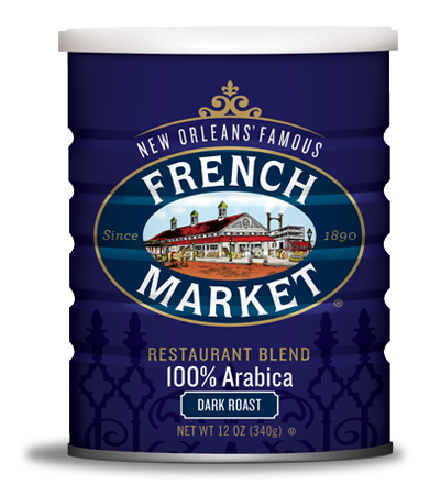 French Market Coffee-Can-Dark Roast