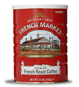 French Market Coffee-Can-French Roast