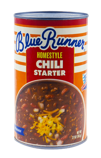Blue Runner Homestyle Chili Starter