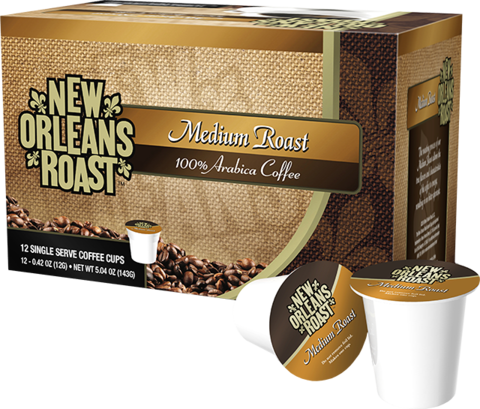 New Orleans Roast Single Serve Cups - Medium Roast