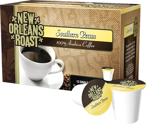 New Orleans Roast Single Serve Cups - Southern Pecan