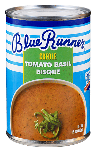 Blue Runner Creole Tomato Basil Bisque