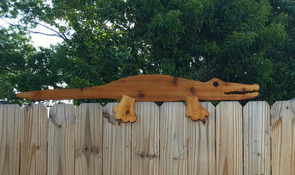 Alligator - Cajun Fence Topper