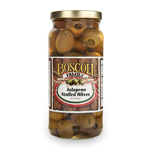 Boscoli Jalapeno Stuffed Olives