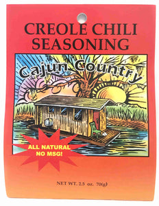 Cajun Country Creole Chili Seasoning