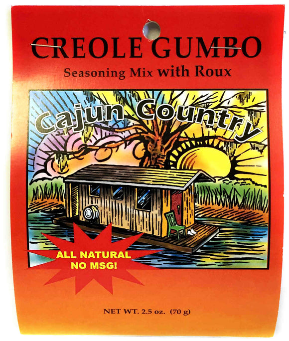Cajun Country Creole Gumbo Seasoning Mix