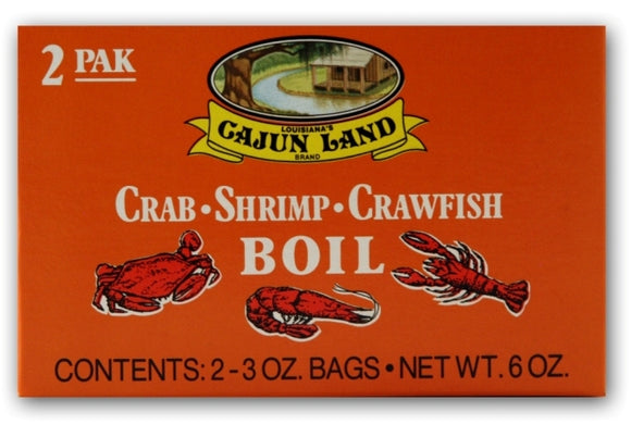 Cajun Land Crawfish Seasoning-Boil-In Bag