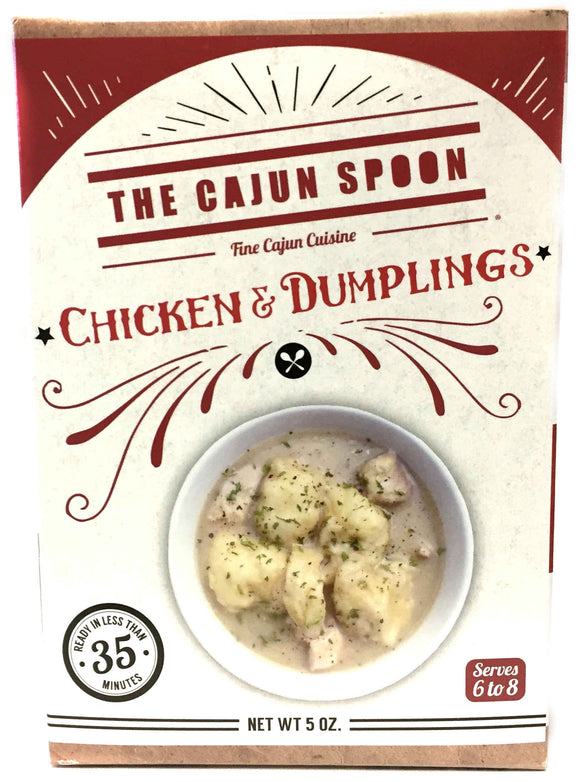 The Cajun Spoon Chicken and Dumplings
