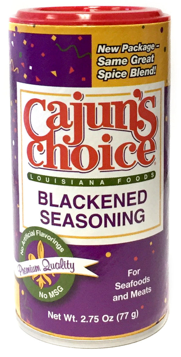 Cajun's Choice Blackened Seasoning
