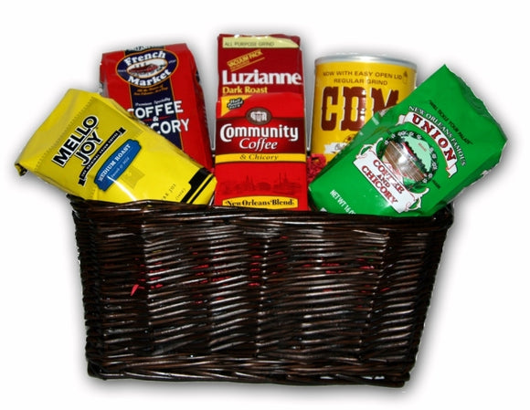 NolaCajun Coffee Gift Basket