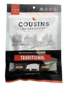 Cousins Smokehouse Original Smoked Pork Jerky