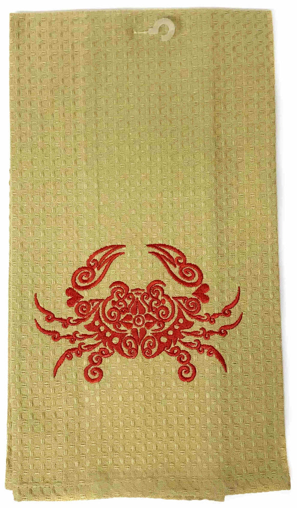 Louisiana Crab Towel