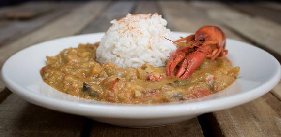 Crawfish Etouffee with Rice