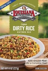 Louisiana Fish Fry Cajun Dirty Rice Entree Mix