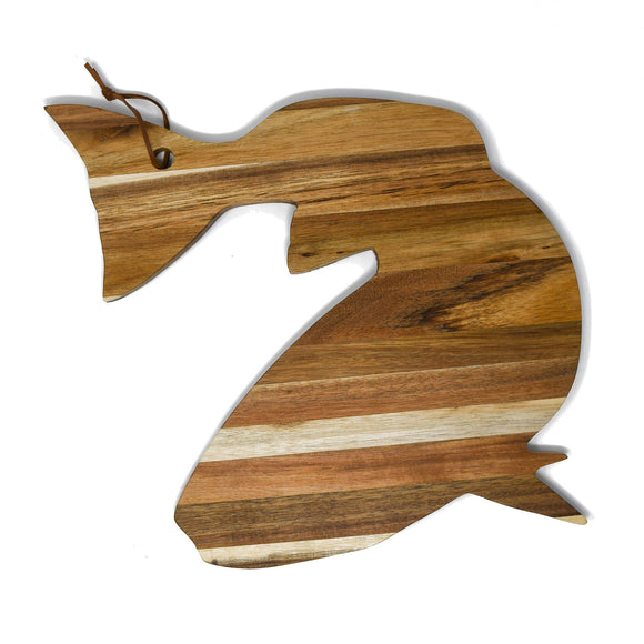 Acacia Wood Serve Board - Redfish