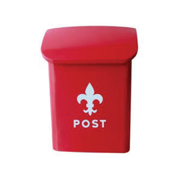 Hot Sauce Red Fleur Letter Box