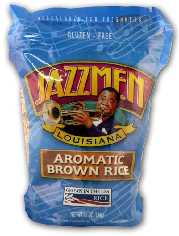 JazzMen Aromatic Brown Rice