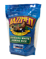 JazzMen Louisiana White Jasmine Rice