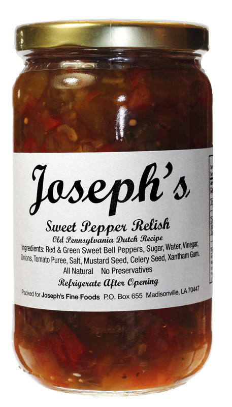 Joseph's Sweet Pepper Relish