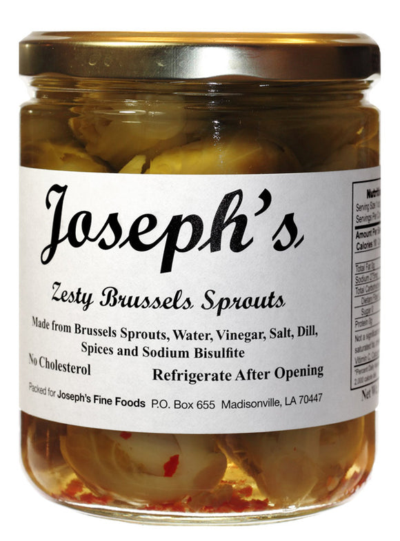 Joseph's Pickled Brussel Sprouts