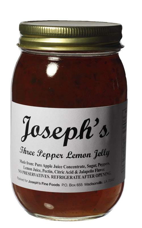 Joseph's Three Pepper Lemon Jelly