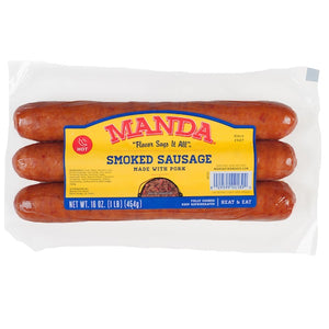 Manda Hot Smoked Sausage