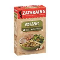 Zatarain's Long Grain Wild Rice Mix