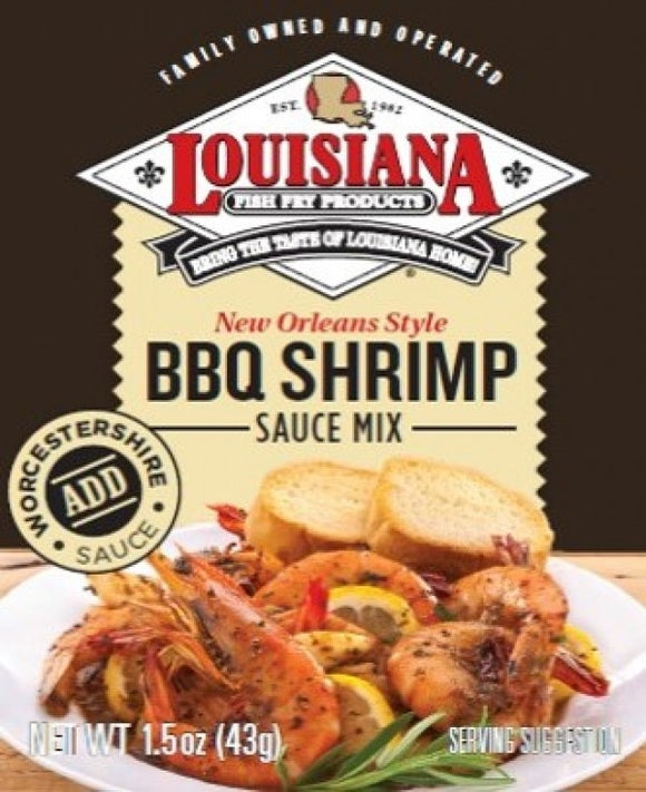 Louisiana Fish Fry BBQ Shrimp Seasoning