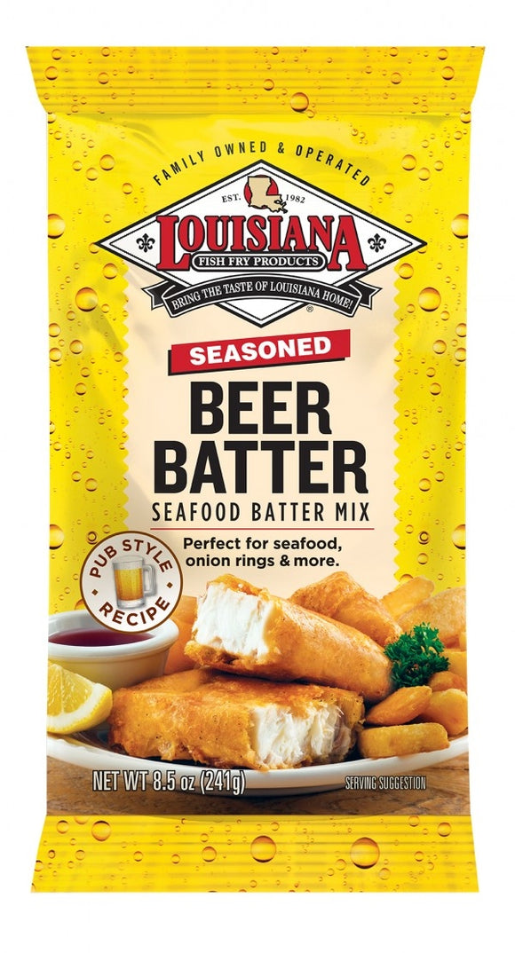 Louisiana Fish Fry Beer Batter Mix